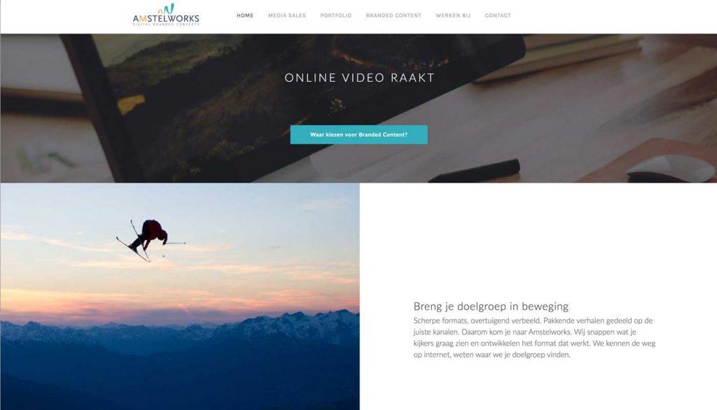 Amstelworks website laten maken door wedefy